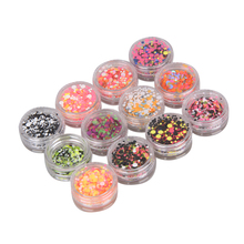 High Quality 12pcs Nails Sticker Mix Color Rhinestones Nail Art Decorations Nails Manicure