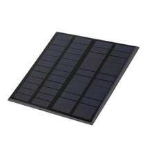 145*145mm 3W 12V 125mA Polycrystalline Silicon Solar Panel Mini Solar Cell PV Module for DIY Solar Display Light Battery Charger