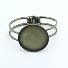 Beadsnice Cuff Bracelet Brass Base Trendy Jewellery Findings 40mm sold by 5pcs Photo Jewellery Accessory ID22859(China)