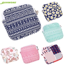 cosmetic bag Best Gift Women Girl Cute Sanitary Pad Organizer Holder Napkin Towel Convenience Bags dEC8