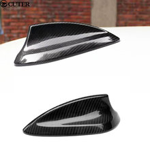 Car styling F10 F18 5series Carbon Fiber Antenna shark fin roof antenna for BMW F10 F18  2012-2015