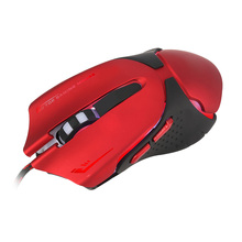 Wired Gaming Mouse USB Optical LED Lights Mouse Gamer 3200 DPI With 6 Button Mouse For PC Laptop Desktop Computer Game