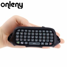Onleny Wireless Controller Text Messenger Keyboard QWERTY Chatpad Keypad for Xbox 360 Game Controller With retail packaging(China)
