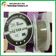 Best quality SS 316L Resistance Wire from 20ga to 40ga 10m for ecigarette WIRE coils