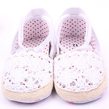 Baby Kids Girls Cotton Frework Bowknot Infant Soft Sole Baby First Walker Toddler Shoes