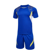 Men's Soccer Jersey Football Uniforms Suit Training sport clothes diy print name/number blank throwback football jerseys set