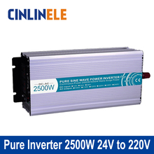 Smart Series Pure Sine Wave Inverter 1500W CLP1500A-242 DC 24V to AC 220V 1500W Surge Power 3000W Power Inverter 24V 220V