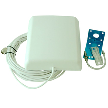 800-2500MHz 9dBi directional outdoor Panel antenna with 10m cable for gsm Cell phone mobile signal booster 3G repeater extender