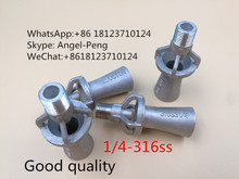 Hot sale ,1/4-316ss, Venturi nozzle,eductor nozzle,mixing water spray jet nozzle,tank mixing eductor spray nozzle