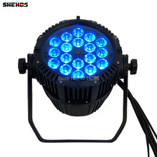 Waterproof LED Par Can 18x12W 4in1 RGBW For Dj Disco Effect Lights Outdoor Wedding/ Party LED Can LED Stage Machine
