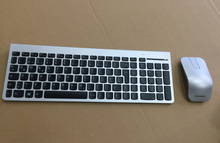 MAORONG TRADING for Lenovo 8861 ZTM600 N70 mouse silver wireless laser keyboard and mouse set qwertz German US UK keyboard(China)