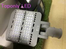 2016 New Design aluminum profile led street lighting 60w outdoor waterproof Bridgelux chips MeanWell power driver led road lamp(China)