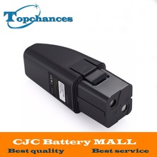 High Quality 7.2V 2000mAh Black Vacuum Battery Fits For Ontel Swivel Sweeper G1 & G2; Compare to Part # RU-RBG