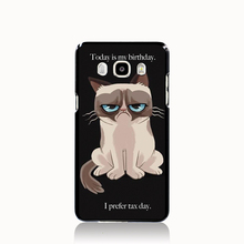 14667 Grumpy Cat Quotes I Had Fun It Was Awful cell phone case cover for Samsung Galaxy J1 MINI J2 J3 J7 ON5 ON7 J120F 2016