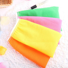 1 pcs New Shower Gloves Exfoliating Wash Skin Spa Bath Gloves Foam Bath Skid Resistance Body Massage Cleaning Loofah Scrubber