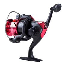 3BB Ball Bearings Left/Right Interchangeable Collapsible Handle Fishing Spinning Reel SE200 5.2:1 with High-tensile Gear (Red)(China)