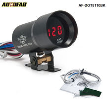 AUTOFAB - EPMAN Compact 37mm Micro Digital Smoked Lens Exhaust Gas Temperature EGT Gauge Black For Honda crv AF-DGT8110BK(China)