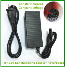 42V 1.5A Universal Battery Charger, 100-240VAC Power Supply for Self Balancing Scooter Hoverboard
