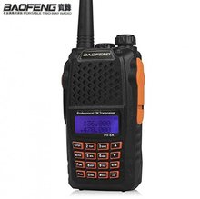 High Quality BaoFeng UV-6R 7w VHF UHF radio walkie talkie dual band for frequency portable ham radio professional hf transceiver(China)