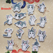 Cartoon cat BROOCH BADGE, clothing accessories, pet accessories wholesale stores, super discount. Women jewelry
