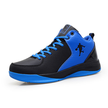 2016 Mens Basketball Sneakers Big Size 11 Basketball Shoes For Men Anti-Slip Basketball Trainers For Boys Mid Top Sports Shoes