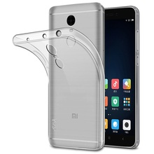 IMAK Stealth Case Clear 0.7mm TPU Skin Cover Case For Xiaomi Redmi Note 4 Telephone Bag Shell Coque Dirt-resistant