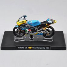 Toys for children 1/18 Scale VALENTINO ROSSI Aprilia RS 125 #46 World Championship 1996 Diecast Mini motorcycle Model(China)