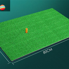 Mats Hitting-Pad Golf-Mat Training Indoor Ball-Free Tee Backyard Rubber Residential