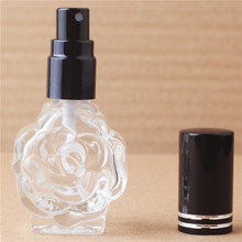 1 pieces 12ml mini empty glass perfume bottle can be added portable travel perfume bottle spray glass bottle with 10 colours