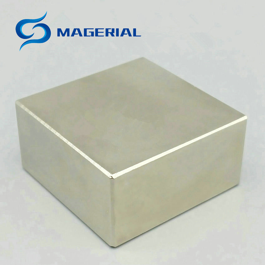 1 piece N52 NdFeB Block 40x40x20 mm and 50x50x25 mm Water Meter Filter Magnet Neodymium Permanent Magnets Rare Earth Magnets<br>