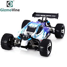 GizmoVine A959 Electric Rc Car Nitro 1/18 2.4Ghz 4WD Remote Control Car High Speed Off Road Racing Car Rc Monster Truck For kids(China)