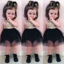 Sequins Newborn Girl Dress Infant Toddler Baby Clothing Strap Tull Pearl Pageant Kids Little Girl Dress
