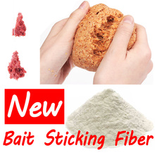 1 Bag 30g Asia Secret Protein Fiber Sticker Fishing Bait Additive Material for Pole Fishing Carp Fishing Condition Bait Sticking
