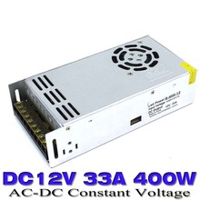 Universal dc Power Supply 12v 33A 400W Switching Led Driver Transformer 110V 220V AC TO DC12V SMPS for Strip Lamp CNC CCTV Motor