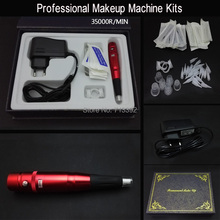Hot Sale Permanent Makeup Eyebrow Lip Machine Kits Free Shipping(China)