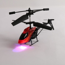 Cool Mini Flashing RC Helicopter Radio Remote Control Aircraft Micro RC Helicopter Model Toys for Children Boys Girls