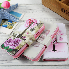 Dulcii Flip PU Leather Case Capa for Samsung Galaxy J1 mini Cover Pattern Design Wallet Phone Cases for Galaxy J1 mini Bag Case(China)