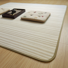 Simple Clean Cotton Linen Carpet Tatami Mat Can Fold The Sitting Room Bedroom Bed Pad Can Machine Washable