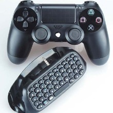 For PS4 Accessories Message Chatpad Mini Wireless Bluetooth Keyboard For Sony Playstation 4 Controller