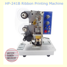 HP-241B Electric Ribbon Date Printing Machine Date Coder Semi Automatic Plastic Bag Printing And Coding Machine(China)