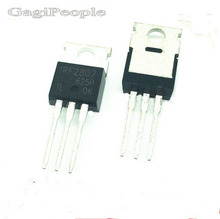Free shipping 50 PCS IRF2807 TO-220 POWER MOSFETS Transistor NEW(China)
