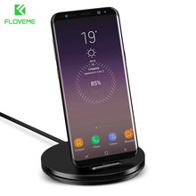 FLOVEME USB Charger For Samsung Galaxy S8 Note 8 Xiaomi 2A Phone Charging Dock Station Support Holder Mobile Adapter Chargeur(China)