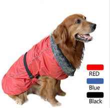 Top quality large dogs Waterproof clothing big dog fashion warm soft jackets pet apparel pets products 1pcs XS-XXXL