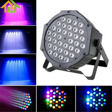 36 RGB LED Par Can Stage Light Disco DJ Bar Effect UP Lighting Show DMX Strobe(China)