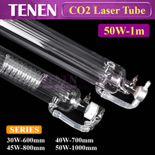 CO2 Laser Tube 50W 1000 mm Dia.55 Glass For Laser Carved Chapter Engraving Marker Cutting Machine Equipment Parts Double Package(China)