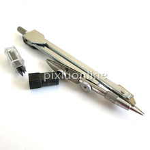 1pc J098 Metal Compasses with Pencil Leads for Students and Teaching DIY Parts Free Shipping Russia