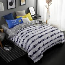 Black and white oval bedding sets Duvet cover set bed sheet Umbrella Moonpillowcase 3 / 4pcs Queen size Full Twin