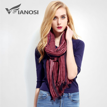 [VIANOSI] Fashion Foulard Femme Luxury Design Cotton Scarf Women Brand hijab Linen Bandana Large Shawl Ladies Scarves VR011