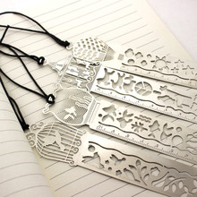 new 4 pcs/lot Korean Cute Hollow Retro Multifunctional Drawing Ruler High Quality Gift Bookmarks School Supplies(China)