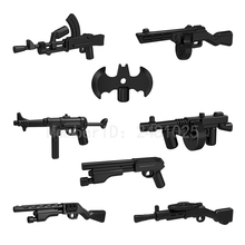 10pcs/set Modern Science Fiction Star Wars Weapon DIY Building Blocks Sets Model Bricks Toys for Children Compatible with Pogo